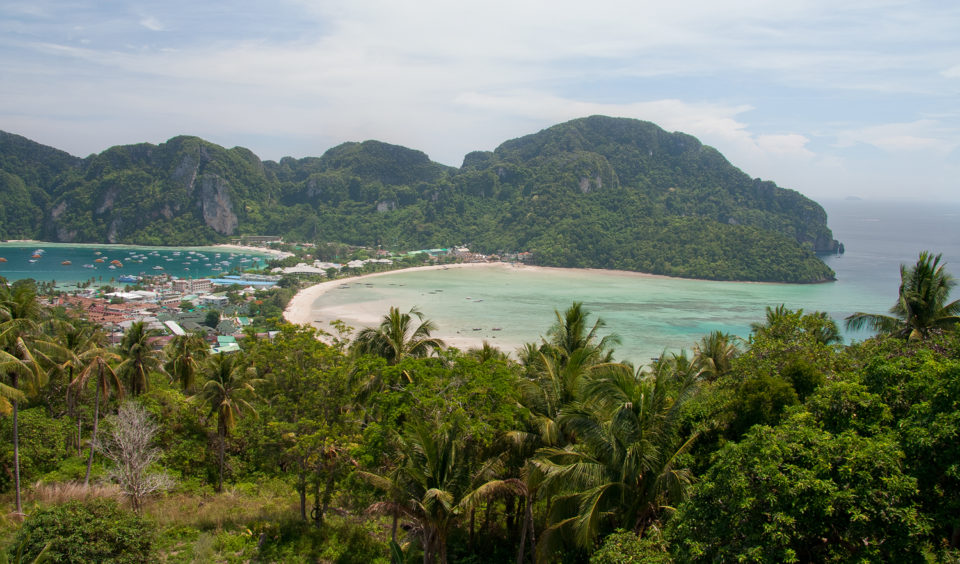 Ostrov Phi Phi - Viewpoint